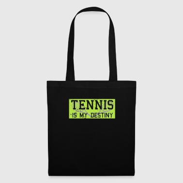 Destiny Tennis is mijn lot-racketsport - Tas van stof