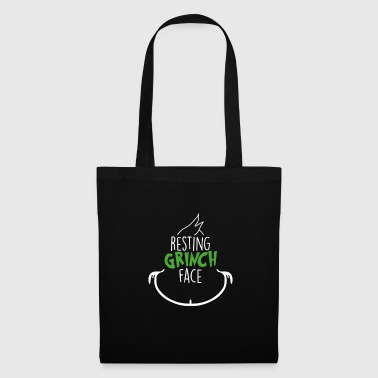 Small Christmas - Resting Grinch Face - Tote Bag