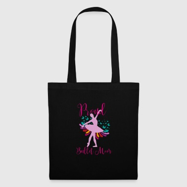 Turn On Proud Ballet Mom Ballet Dance Ballerina Dancer - Tote Bag
