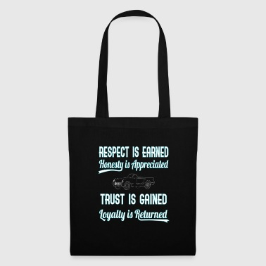 Womens-rights Show Some Respect Tshirt Designs Respect is earned - Tote Bag