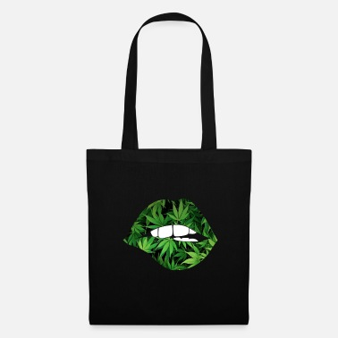 Green Peace lips - Tote Bag