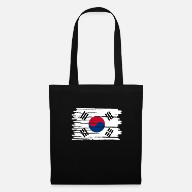Food North Korea South Korea Asia Gift Flag - Tote Bag