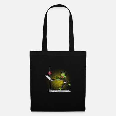 Witchcraft Zombie treadmill Halloween gift - Tote Bag
