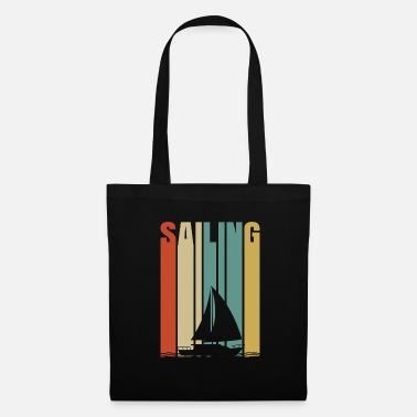 Tempest Sailing boat gift sea ship waves water - Tote Bag