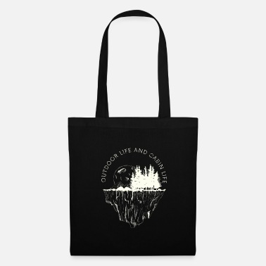 Weekend Outdoor Life & Cabin Life - Tote Bag