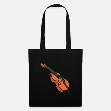 Music Note Cello gift orchestra instrument music - Tote Bag