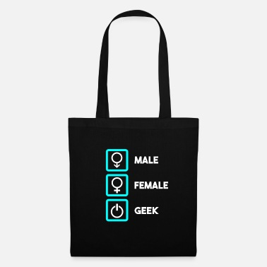 Freak Geek - Borsa di stoffa