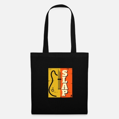 Strumento Slap Bass Slapping Gift Playing Musicista - Borsa di stoffa