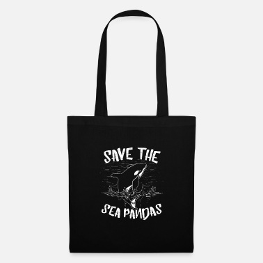 Baywatch Save the Sea Pandas Save the sea creatures - Tote Bag