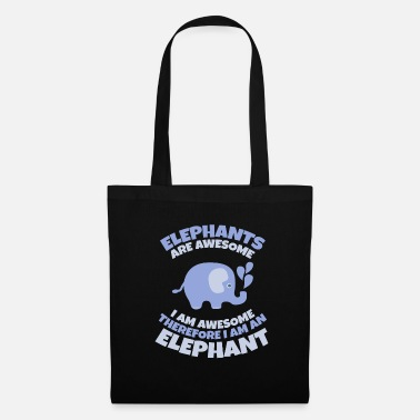 Superstar Elephants are super I am super I am elephant - Tote Bag