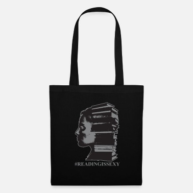 Book Reading Is Sexy Librarian Girl Art Funny Gift - Tote Bag