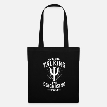 Depressed Psychologist diagnosis therapy - Tote Bag