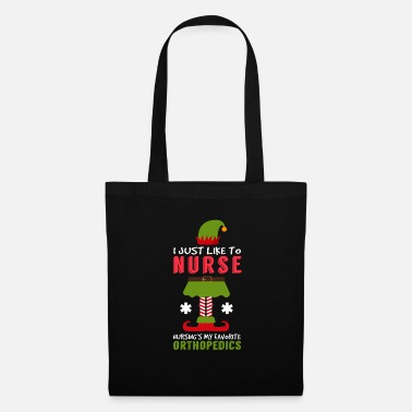 Grave I Just Like To Nurse Orthopedics Christmas Xmas - Tote Bag