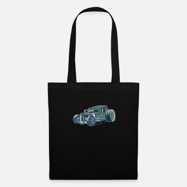Speedway Rat Rod Hot Rod Green - Tote Bag