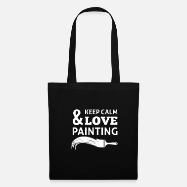 Painting To paint - Tote Bag