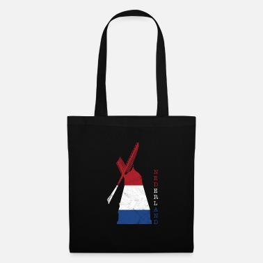 Wind Turbine Netherlands Holland windmill national colors - Tote Bag