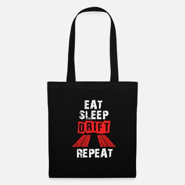 Turbo Drifter Eat Sleep Drift Repeat - Tote Bag