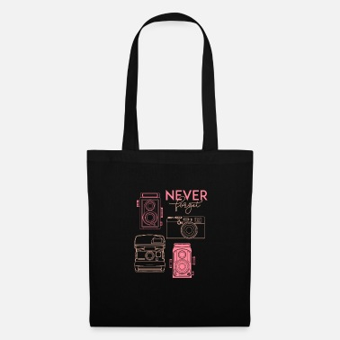 Big Never forget - oldschool items - Tote Bag