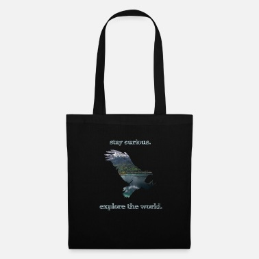 Trotteur Wanderlust Travel Freedom Nature Voyage Adler Vintage - Tote Bag