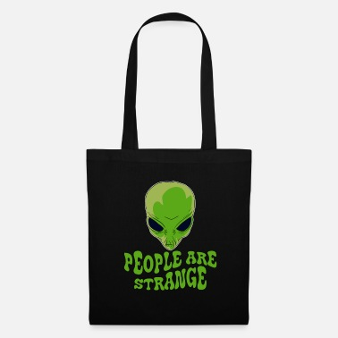 Odd Be strange even in the outer space with this - Tote Bag