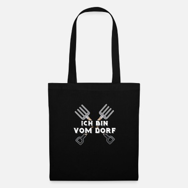 Village Je suis du village - enfant du village - Tote Bag