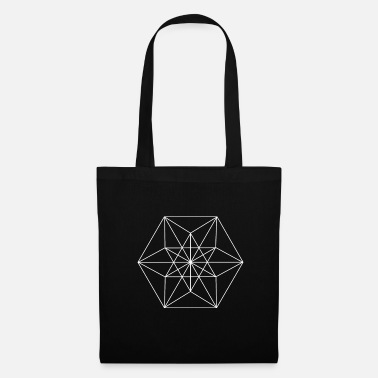 Rectangle GEOMETRIC HEXAGON - Tote Bag
