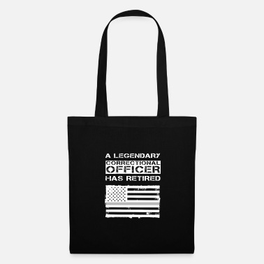 Prison Retired Correctional Officer Retirement Party Gift - Tote Bag