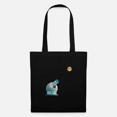 Weightless Space Solar System Observatory planet - Tote Bag