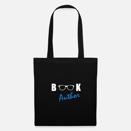 Birthday Bags & Backpacks - Book Author - Tote Bag black