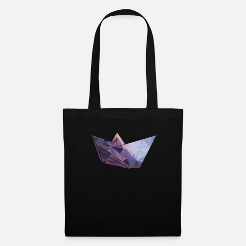 Origami Boot Schiff Papier Basteln Kind Junge Stoffbeutel Spreadshirt