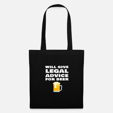 Office Will Provide Legal Advice For Beer Funny Lawyer - Tote Bag
