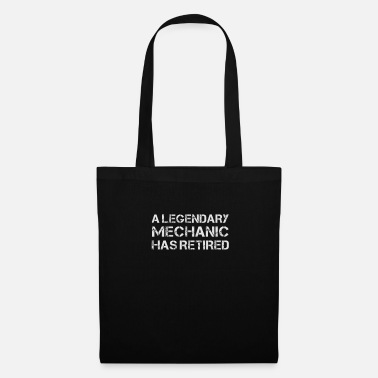 Retirement A Legendary Mechanic Has Retired Hot Retirement - Tote Bag