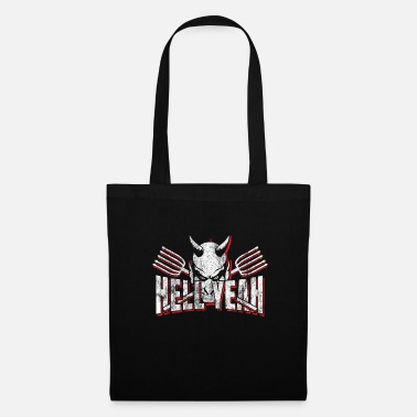 Evil Hell hell Satan - Tote Bag