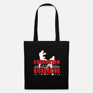 Debout Kick-Boxing éducation sportive - Tote Bag