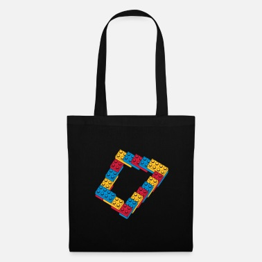 Geek optical illusion - endless steps - Tote Bag