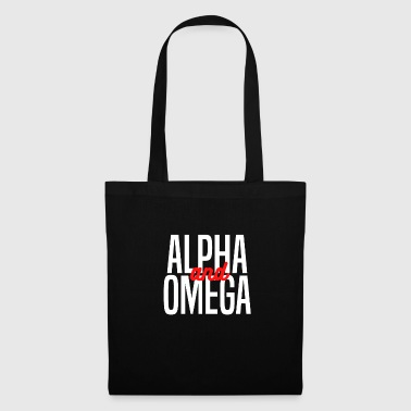Alpha and Omega Christliches design - Stoffbeutel
