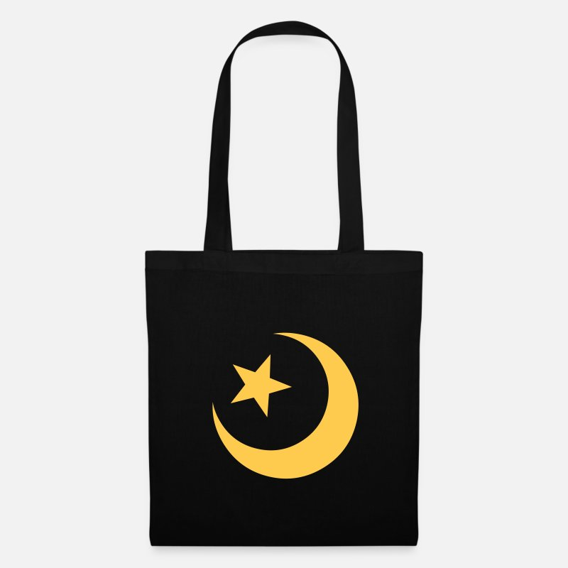 Muslim Bags & Backpacks - Islam - Tote Bag black