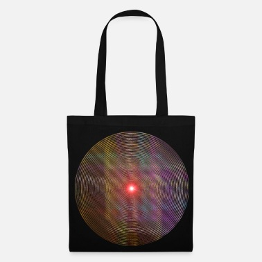 Explosion Red Star Lines, ligne d'étoile rouge. - Tote Bag
