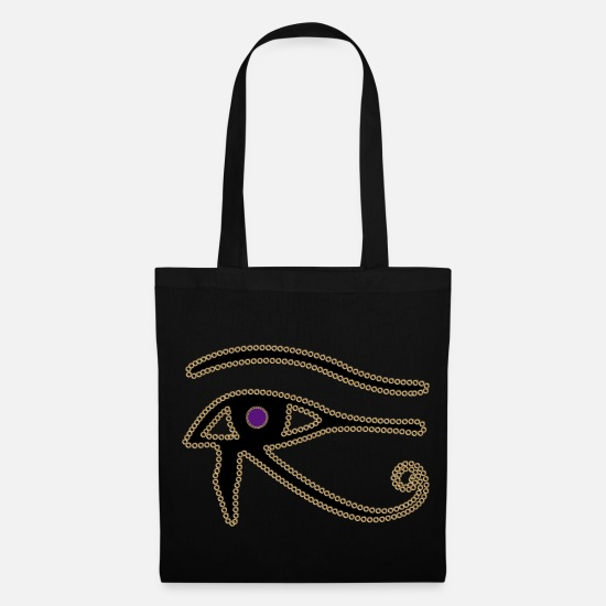 Eye Bags & Backpacks - Eye of Horus - Tote Bag black