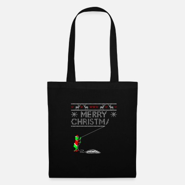 Nimble Ugly Christmas sweater running - Tote Bag