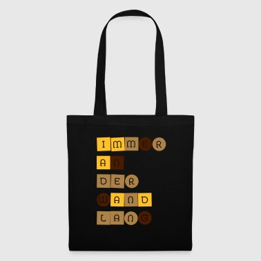 on the wall - Tote Bag