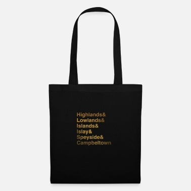 Région Régions de whisky - Tote Bag