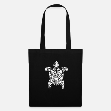 Polynésie Tatouage Honu Tribal Guerrier Tortue Maori - Ges - Tote Bag