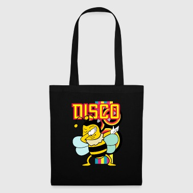 Retro Vintage Dabbing Dab Disco Party Bee Animals - Tote Bag