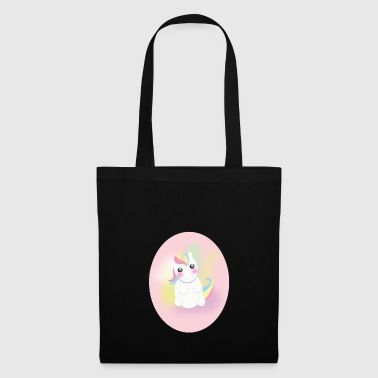 Sitting unicorn - Tote Bag