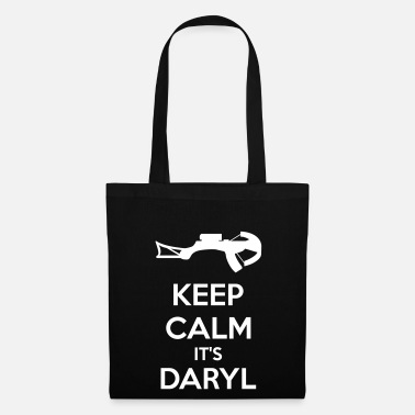 Keep Calm Keep Calm It's Daryl - Borsa di stoffa