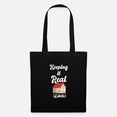 Estate Agent Funny Real Estate Agent Estate Agent Shirt - Tote Bag