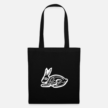 Graphic Art Bunny bunny graphic art - Tote Bag