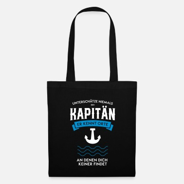 Rafting Capitaine marin voilier cadeau d'ancre - Tote Bag
