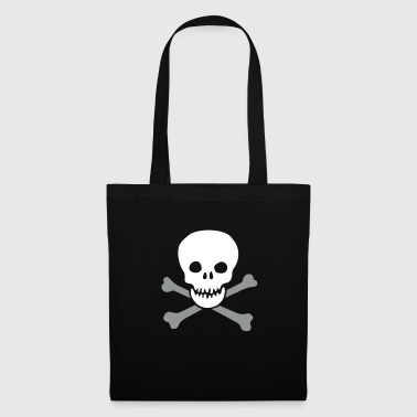 skull and crossbones - Tote Bag